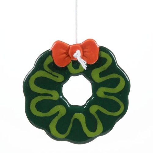 Christmas Traditions Wreath Ornament