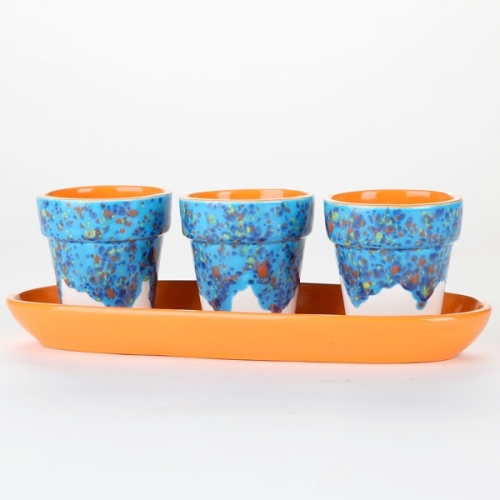Color Garden Flower Pot Set