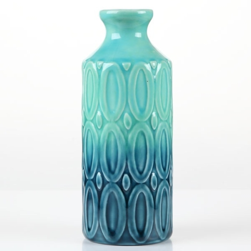 Underwater Blues Bud Vase