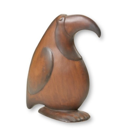 Wood Grained Toucan