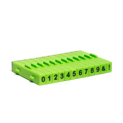 Attachable Numbers Stamp Set 12 pcs