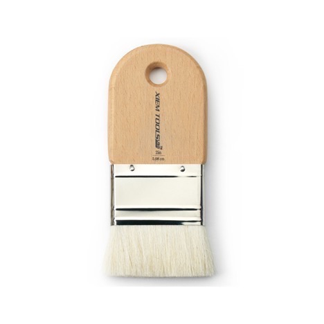"""Short Cut Glaze Brush 2"""" High Quality Goat"