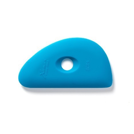 Firm Silicone Rib 4 - Blue